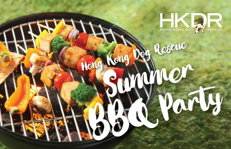 summer bbq party hong kong dog rescue
